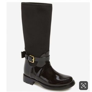 Kate Spade Patent Leather Rain Boots